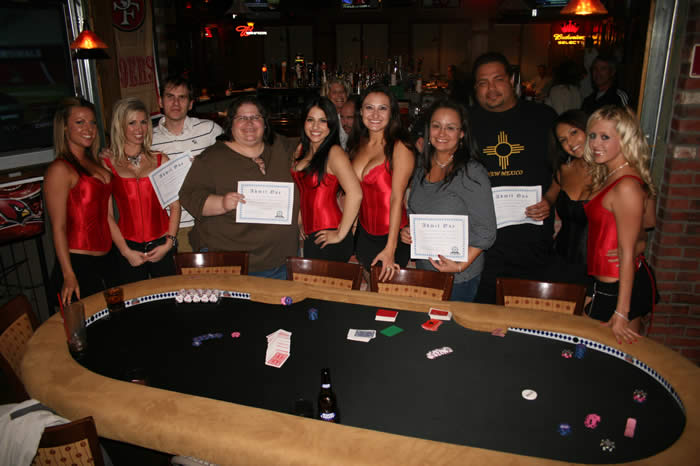 Winners of the KO's Free Roll Satellite to a Fort McDowell Tournament