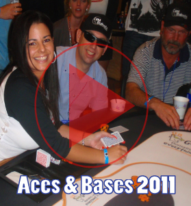 Video from Celebrity Charity Poker Tournament Aces and Bases