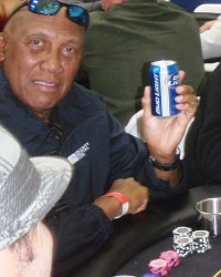 Fergie Jenkins  at an Arizona charity poker tournament