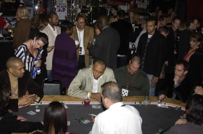 Grant Hill, Shawn Marion and other guests challenged each other at one our past Celebrity Poker Tournaments