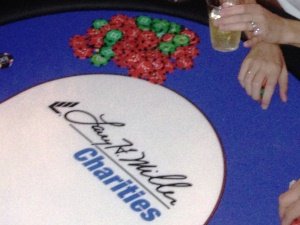 Larry H Miller Charities Poker Table