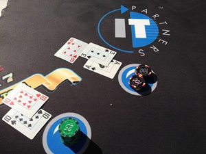 IT Partners Blackjack Table