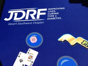 JDRF Blackjack Table