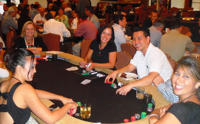 Phoenix Poker Table Rentals for corporate events