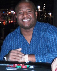 "Marvin Young at ""Caught on the River"" Scottsdale Charity Poker Tournament"