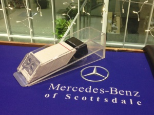 Mercedes Benz of Scottsdale Custom Blackjack Table