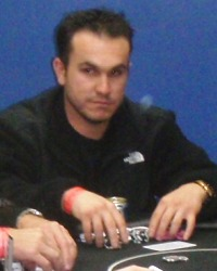Miquel Montero at an Arizona charity poker tournament