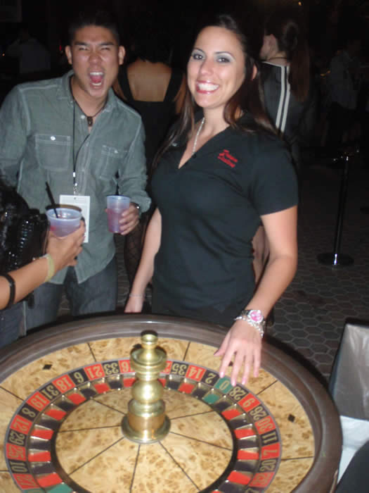 Roulette and casino equipment rentals in Arizona
