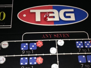 Tag Payment Services Craps Table