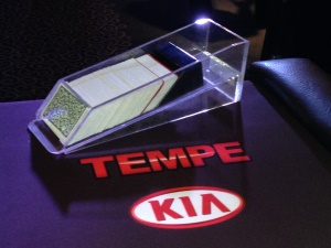 Tempe Kia Blackjack Table