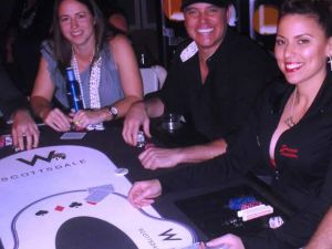 W Hotel's poker table used at many high profile charity events