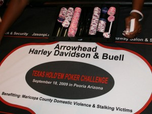 Charity Poker Tournament at Arrowhead Harley Davidson