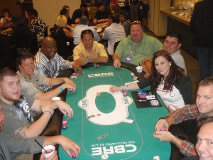 CBRE Sponsored Poker Table