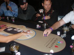 Elements Therapeutic Massage poker table