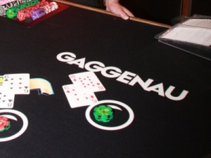 Gaggenau sponsored blackjack table