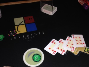 Inventure Foods Blackjack table