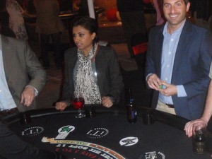 iT1 Custom Blackjack Table