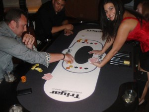 Triyar Entertainment Group's poker table
